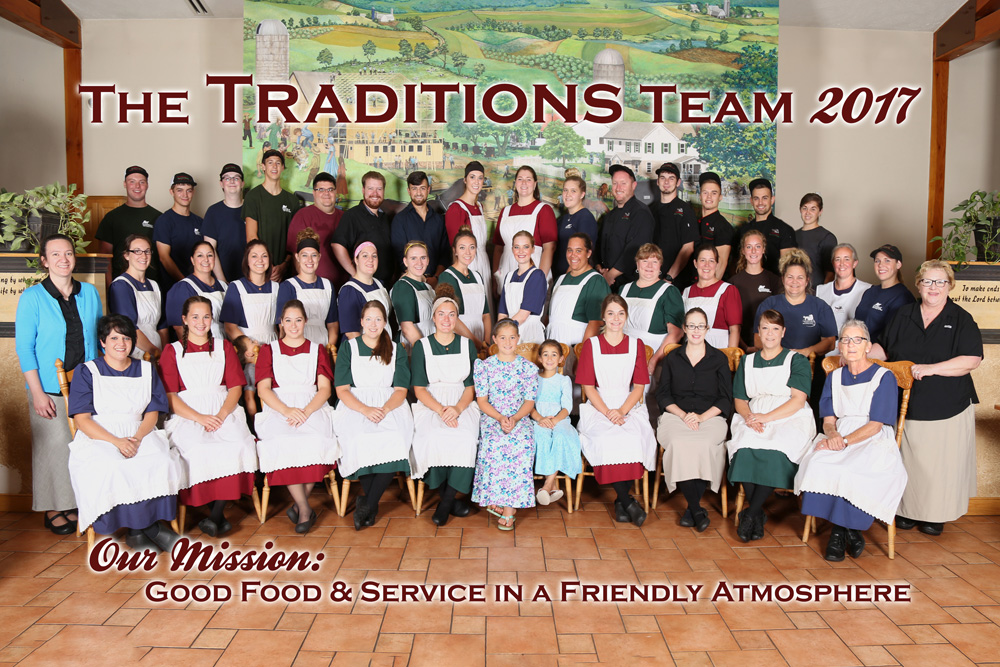 Traditions Staff August 2017