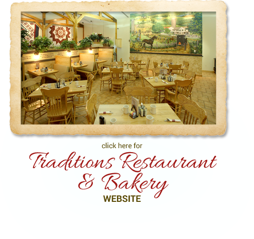 Click here for Traditions Restaurant & Bakery website.