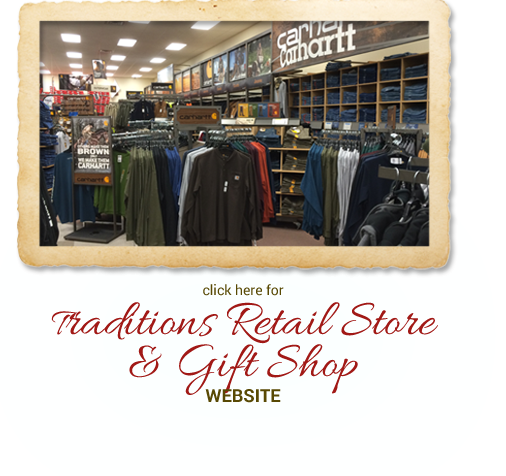 Click here for Traditions Retail Store & Gift Shop website.